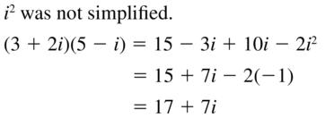 Big Ideas Math Algebra 2 Answers Chapter 3 Quadratic Equations and Complex Numbers 3.2 a 63