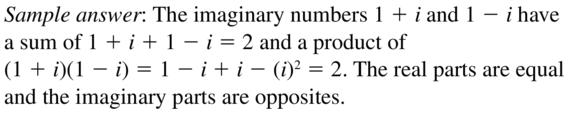 Big Ideas Math Algebra 2 Answers Chapter 3 Quadratic Equations and Complex Numbers 3.2 a 75
