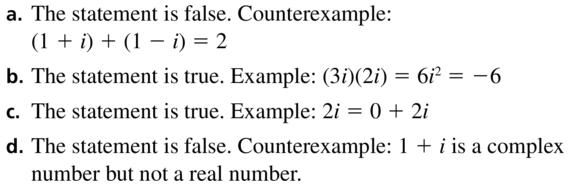 Big Ideas Math Algebra 2 Answers Chapter 3 Quadratic Equations and Complex Numbers 3.2 a 77