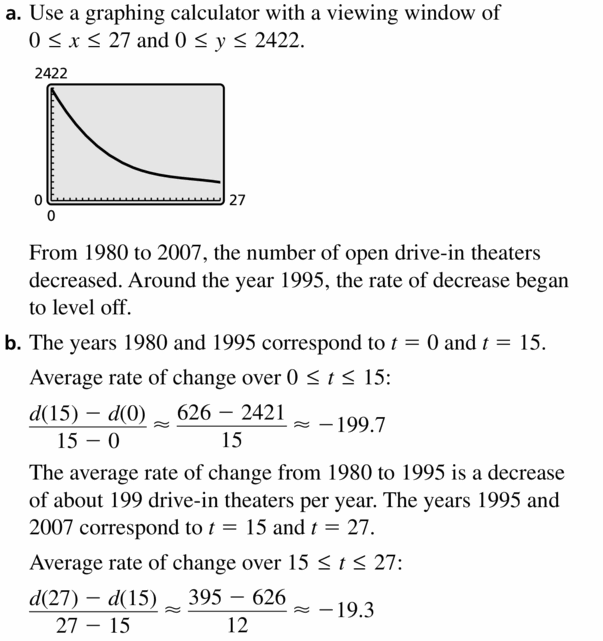 Big Ideas Math Algebra 2 Answers Chapter 4 Polynomial Functions 4.1 Question 41.1