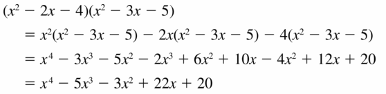 Big Ideas Math Algebra 2 Answers Chapter 4 Polynomial Functions 4.2 Question 21
