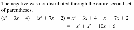 Big Ideas Math Algebra 2 Answers Chapter 4 Polynomial Functions 4.2 Question 25