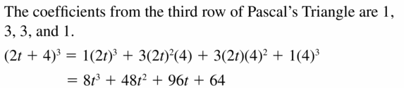 Big Ideas Math Algebra 2 Answers Chapter 4 Polynomial Functions 4.2 Question 43