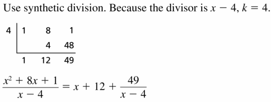 Big Ideas Math Algebra 2 Answers Chapter 4 Polynomial Functions 4.3 Question 11