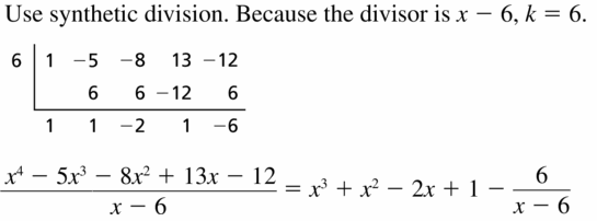 Big Ideas Math Algebra 2 Answers Chapter 4 Polynomial Functions 4.3 Question 17
