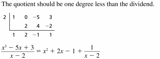 Big Ideas Math Algebra 2 Answers Chapter 4 Polynomial Functions 4.3 Question 23