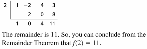 Big Ideas Math Algebra 2 Answers Chapter 4 Polynomial Functions 4.3 Question 27