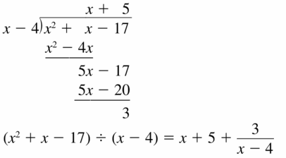 Big Ideas Math Algebra 2 Answers Chapter 4 Polynomial Functions 4.3 Question 5