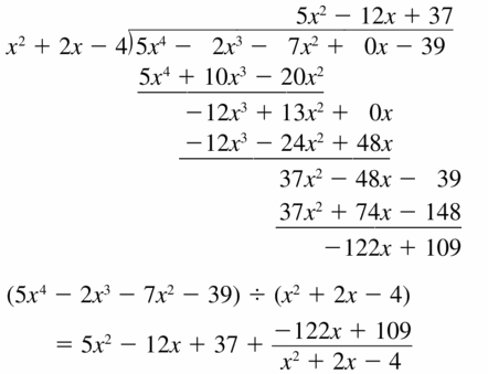 Big Ideas Math Algebra 2 Answers Chapter 4 Polynomial Functions 4.3 Question 9