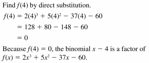 Big Ideas Math Algebra 2 Answers Chapter 4 Polynomial Functions 4.4 Question 39