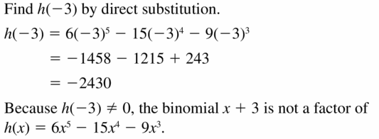 Big Ideas Math Algebra 2 Answers Chapter 4 Polynomial Functions 4.4 Question 41