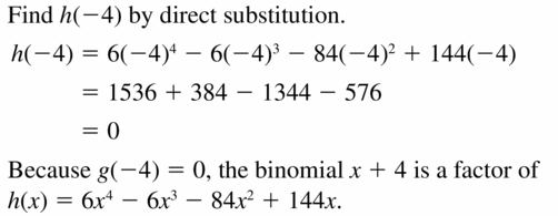 Big Ideas Math Algebra 2 Answers Chapter 4 Polynomial Functions 4.4 Question 43