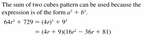 Big Ideas Math Algebra 2 Answers Chapter 4 Polynomial Functions 4.4 Question 61
