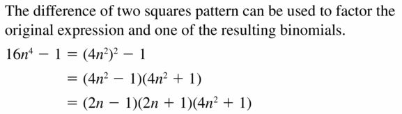 Big Ideas Math Algebra 2 Answers Chapter 4 Polynomial Functions 4.4 Question 63