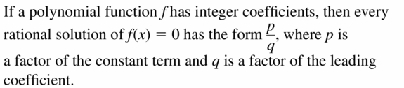 Big Ideas Math Algebra 2 Answers Chapter 4 Polynomial Functions 4.5 Question 1