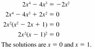 Big Ideas Math Algebra 2 Answers Chapter 4 Polynomial Functions 4.5 Question 5