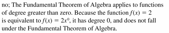 Big Ideas Math Algebra 2 Answers Chapter 4 Polynomial Functions 4.6 Question 49