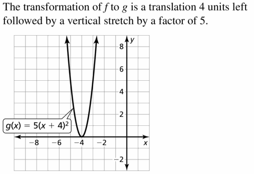 Big Ideas Math Algebra 2 Answers Chapter 4 Polynomial Functions 4.6 Question 57