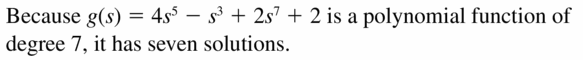 Big Ideas Math Algebra 2 Answers Chapter 4 Polynomial Functions 4.6 Question 7