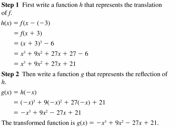 Big Ideas Math Algebra 2 Answers Chapter 4 Polynomial Functions 4.7 Question 23