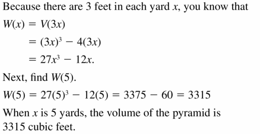 Big Ideas Math Algebra 2 Answers Chapter 4 Polynomial Functions 4.7 Question 27
