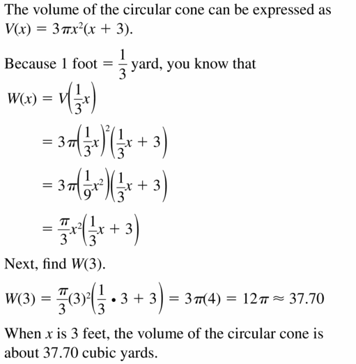Big Ideas Math Algebra 2 Answers Chapter 4 Polynomial Functions 4.7 Question 33