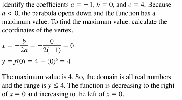Big Ideas Math Algebra 2 Answers Chapter 4 Polynomial Functions 4.7 Question 35