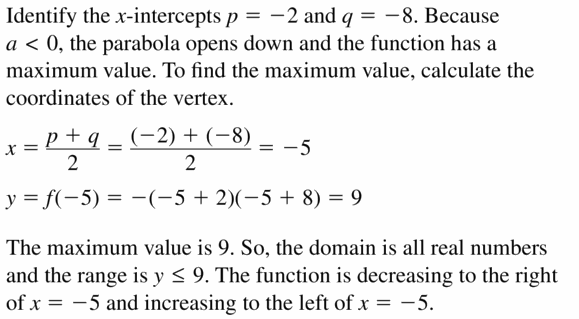 Big Ideas Math Algebra 2 Answers Chapter 4 Polynomial Functions 4.7 Question 37