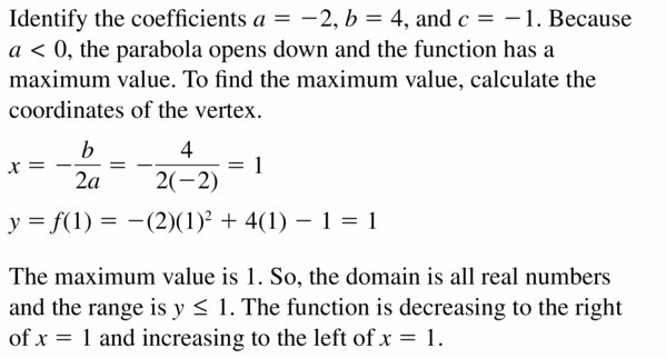 Big Ideas Math Algebra 2 Answers Chapter 4 Polynomial Functions 4.7 Question 39