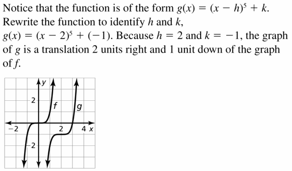 Big Ideas Math Algebra 2 Answers Chapter 4 Polynomial Functions 4.7 Question 5
