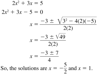 Big Ideas Math Algebra 2 Answers Chapter 4 Polynomial Functions 4.9 a 29
