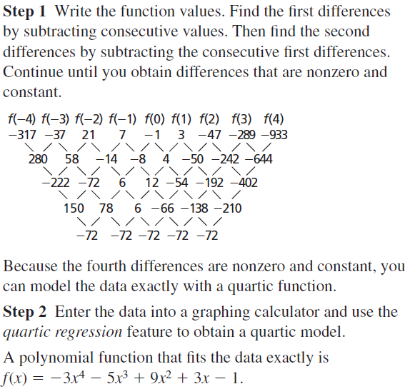 Big Ideas Math Algebra 2 Answers Chapter 4 Polynomial Functions 4.9 a 9