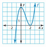 Big Ideas Math Algebra 2 Answers Chapter 4 Polynomial Functions 9