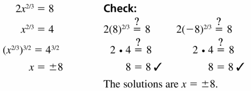 Big Ideas Math Algebra 2 Answers Chapter 5 Rational Exponents and Radical Functions 5.4 Question 27