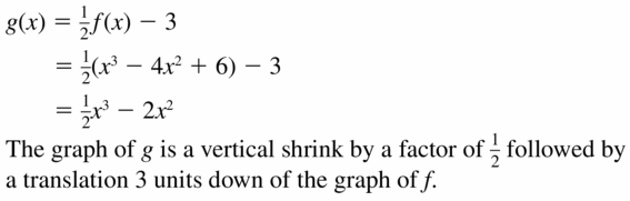 Big Ideas Math Algebra 2 Answers Chapter 5 Rational Exponents and Radical Functions 5.4 Question 69