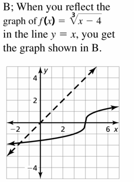 Big Ideas Math Algebra 2 Answers Chapter 5 Rational Exponents and Radical Functions 5.6 Question 65.1