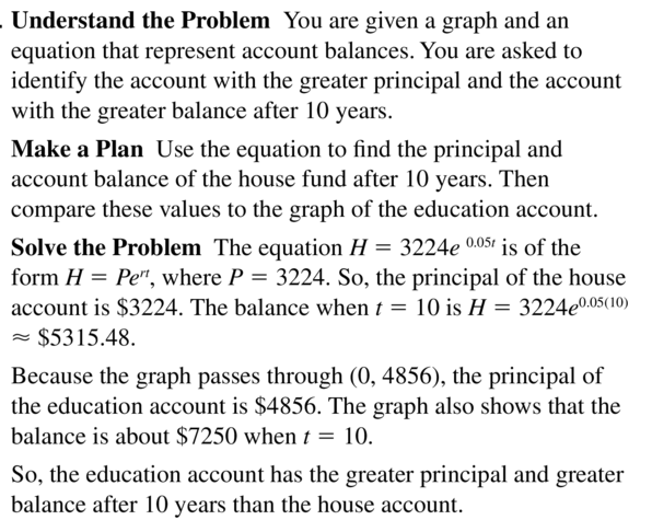 Big Ideas Math Algebra 2 Answers Chapter 6 Exponential and Logarithmic Functions 6.2 a 35