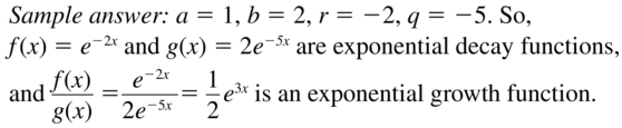 Big Ideas Math Algebra 2 Answers Chapter 6 Exponential and Logarithmic Functions 6.2 a 37