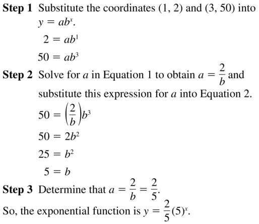 Big Ideas Math Algebra 2 Answers Chapter 6 Exponential and Logarithmic Functions 6.7 a 11