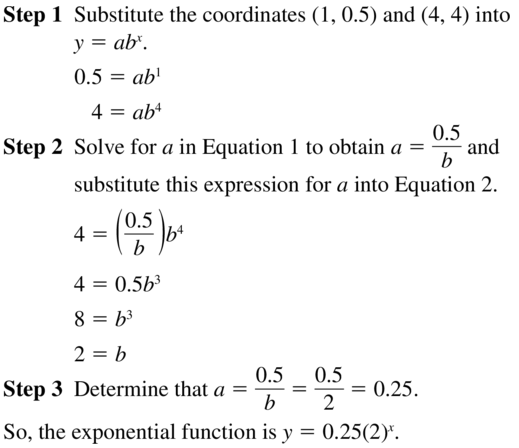 Big Ideas Math Algebra 2 Answers Chapter 6 Exponential and Logarithmic Functions 6.7 a 15
