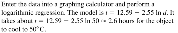 Big Ideas Math Algebra 2 Answers Chapter 6 Exponential and Logarithmic Functions 6.7 a 33