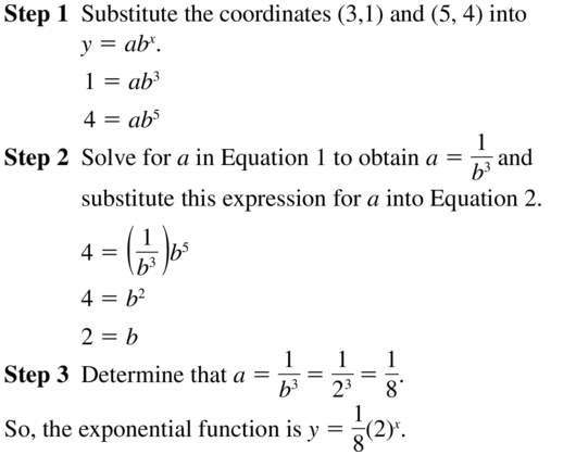 Big Ideas Math Algebra 2 Answers Chapter 6 Exponential and Logarithmic Functions 6.7 a 9