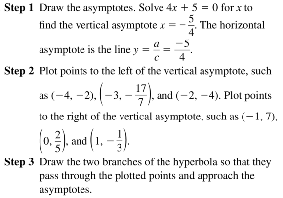 Big Ideas Math Algebra 2 Answers Chapter 7 Rational Functions 7.2 a 29.1