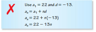 Big Ideas Math Algebra 2 Answers Chapter 8 Sequences and Series 8.2 4