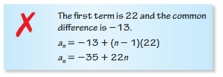 Big Ideas Math Algebra 2 Answers Chapter 8 Sequences and Series 8.2 5