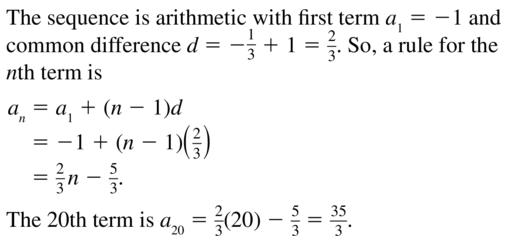 Big Ideas Math Algebra 2 Answers Chapter 8 Sequences and Series 8.2 a 17