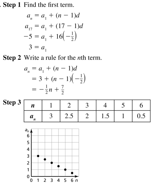 Big Ideas Math Algebra 2 Answers Chapter 8 Sequences and Series 8.2 a 27
