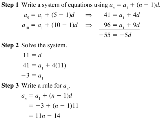 Big Ideas Math Algebra 2 Answers Chapter 8 Sequences and Series 8.2 a 31