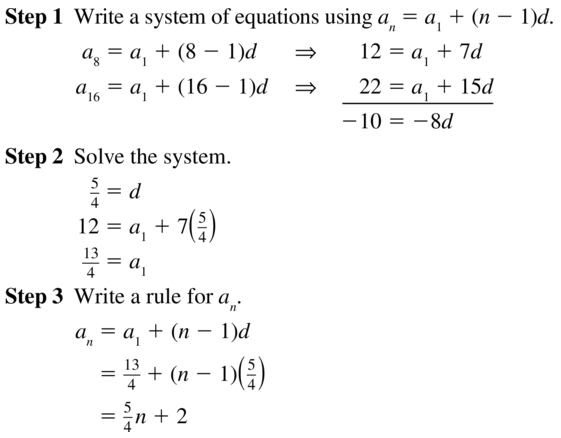 Big Ideas Math Algebra 2 Answers Chapter 8 Sequences and Series 8.2 a 37