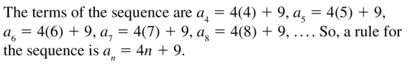 Big Ideas Math Algebra 2 Answers Chapter 8 Sequences and Series 8.2 a 43